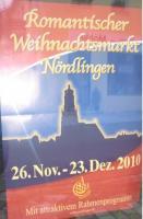 Aktion auf dem Nördlinger Weihnachtsmarkt